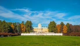 Φέουδο Arkhangelskoe το φθινόπωρο Στοκ Φωτογραφία