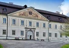 Φέουδο-σπίτι σε Svaty Anton Στοκ εικόνες με δικαίωμα ελεύθερης χρήσης