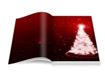 φέρνει το διάνυσμα santa νύχτας απεικόνισης δώρων Claus Χριστουγέννων Στοκ Εικόνα