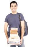 Φέρνοντας βιβλία σπουδαστών στοκ φωτογραφία με δικαίωμα ελεύθερης χρήσης