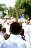 φέρνοντας σταυρός Στοκ Φωτογραφίες