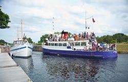 Φέρνοντας τουρίστες βασίλισσας Jacobite στοκ φωτογραφία