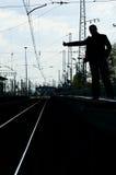 φέρτε hey εγώ το τραίνο επάνω Στοκ φωτογραφία με δικαίωμα ελεύθερης χρήσης