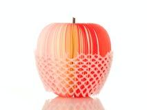 φέτα εγγράφου μήλων Στοκ Εικόνες