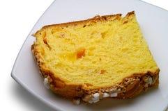 φέτα κέικ μαλακή Στοκ Φωτογραφίες