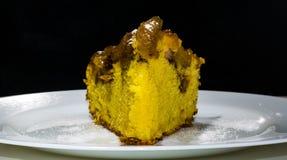 Φέτα κέικ της Apple Στοκ Εικόνες