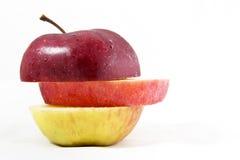 Φέτα μήλων Στοκ φωτογραφίες με δικαίωμα ελεύθερης χρήσης