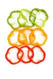 φέτα πιπεριών κουδουνιών Στοκ φωτογραφία με δικαίωμα ελεύθερης χρήσης
