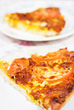 φέτα πιτσών Στοκ φωτογραφία με δικαίωμα ελεύθερης χρήσης