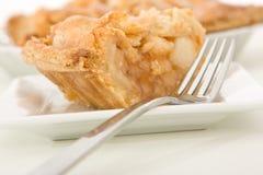 φέτα πιτών μήλων Στοκ εικόνα με δικαίωμα ελεύθερης χρήσης