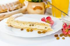Φέτα πιτών τυριών στάρπης Στοκ Εικόνες
