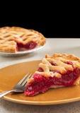 Φέτα της πίτας κερασιών Στοκ Εικόνες