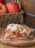 Φέτα της πίτας των βακκίνιων της Apple Στοκ Φωτογραφίες