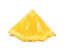 Φέτα του ανανά που απομονώνεται στο άσπρο υπόβαθρο Στοκ εικόνα με δικαίωμα ελεύθερης χρήσης