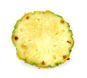 Φέτα του ανανά που απομονώνεται στο άσπρο υπόβαθρο Στοκ φωτογραφία με δικαίωμα ελεύθερης χρήσης