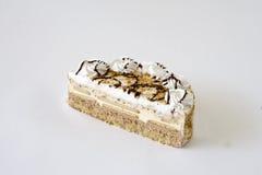 Φέτα του εύγευστου κέικ κρέμας Στοκ Φωτογραφία