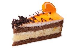 Φέτα του κέικ κρέμας στοκ εικόνα με δικαίωμα ελεύθερης χρήσης