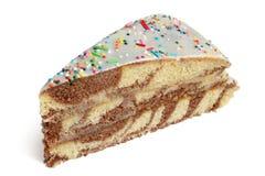 Φέτα του κέικ Στοκ φωτογραφία με δικαίωμα ελεύθερης χρήσης