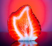 Φέτα φραουλών Στοκ Εικόνες