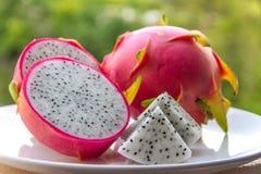 Φέτα φρούτων δράκων Στοκ Εικόνα