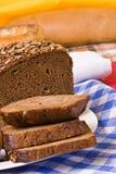 φέτα ψωμιού Στοκ Φωτογραφία