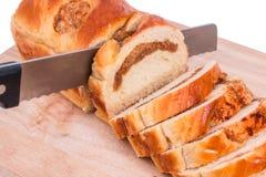 Φέτα ψωμιού Στοκ Εικόνα