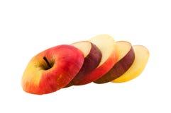 φέτες αχλαδιών μήλων Στοκ φωτογραφία με δικαίωμα ελεύθερης χρήσης
