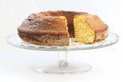 Φέτες κέικ λιβρών Στοκ φωτογραφία με δικαίωμα ελεύθερης χρήσης