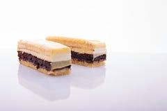 Φέτες κέικ Στοκ φωτογραφία με δικαίωμα ελεύθερης χρήσης