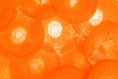 φέτες καρότων Στοκ Φωτογραφίες