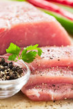φέτες κρέατος Στοκ εικόνες με δικαίωμα ελεύθερης χρήσης