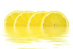 φέτες λεμονιών Στοκ φωτογραφίες με δικαίωμα ελεύθερης χρήσης
