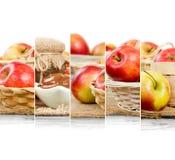 Φέτες μιγμάτων της Apple Στοκ Φωτογραφίες