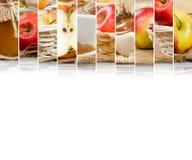 Φέτες μιγμάτων της Apple Στοκ φωτογραφία με δικαίωμα ελεύθερης χρήσης