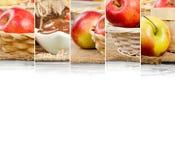Φέτες μιγμάτων της Apple Στοκ εικόνες με δικαίωμα ελεύθερης χρήσης