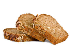 φέτες σίκαλης ψωμιού Στοκ εικόνες με δικαίωμα ελεύθερης χρήσης