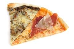 Φέτες της πίτσας Στοκ εικόνες με δικαίωμα ελεύθερης χρήσης