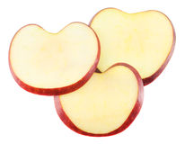 Φέτες της Apple Στοκ Φωτογραφίες
