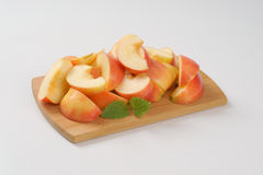 Φέτες της Apple Στοκ Εικόνες
