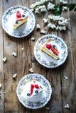 Φέτες του κέικ σφουγγαριών Βικτώριας στοκ φωτογραφίες με δικαίωμα ελεύθερης χρήσης