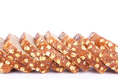 Φέτες του ψωμιού πίτουρου Στοκ Εικόνες