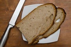 Φέτες του ψωμιού Στοκ εικόνα με δικαίωμα ελεύθερης χρήσης