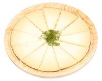 Φέτες τυριών Στοκ εικόνες με δικαίωμα ελεύθερης χρήσης