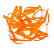 Φέτες των φρέσκων καρότων Στοκ Εικόνα