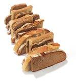 Φέτες ψωμιού Στοκ Φωτογραφίες