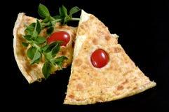 φέτες omlet frittata Στοκ φωτογραφίες με δικαίωμα ελεύθερης χρήσης