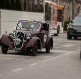ΦΊΑΤ 508 BERLINETTA 1935 ΚΚ ΚΑΙΣΊΟΥ Στοκ εικόνα με δικαίωμα ελεύθερης χρήσης