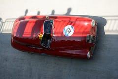 1948 Φίατ 1100 S Berlinetta Gobbone στο Mille Miglia Στοκ φωτογραφίες με δικαίωμα ελεύθερης χρήσης