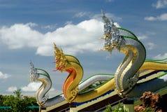 φίδια Ταϊλανδός εκκλησιώ&nu Στοκ φωτογραφία με δικαίωμα ελεύθερης χρήσης