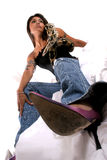 φίδι μόδας στοκ εικόνες